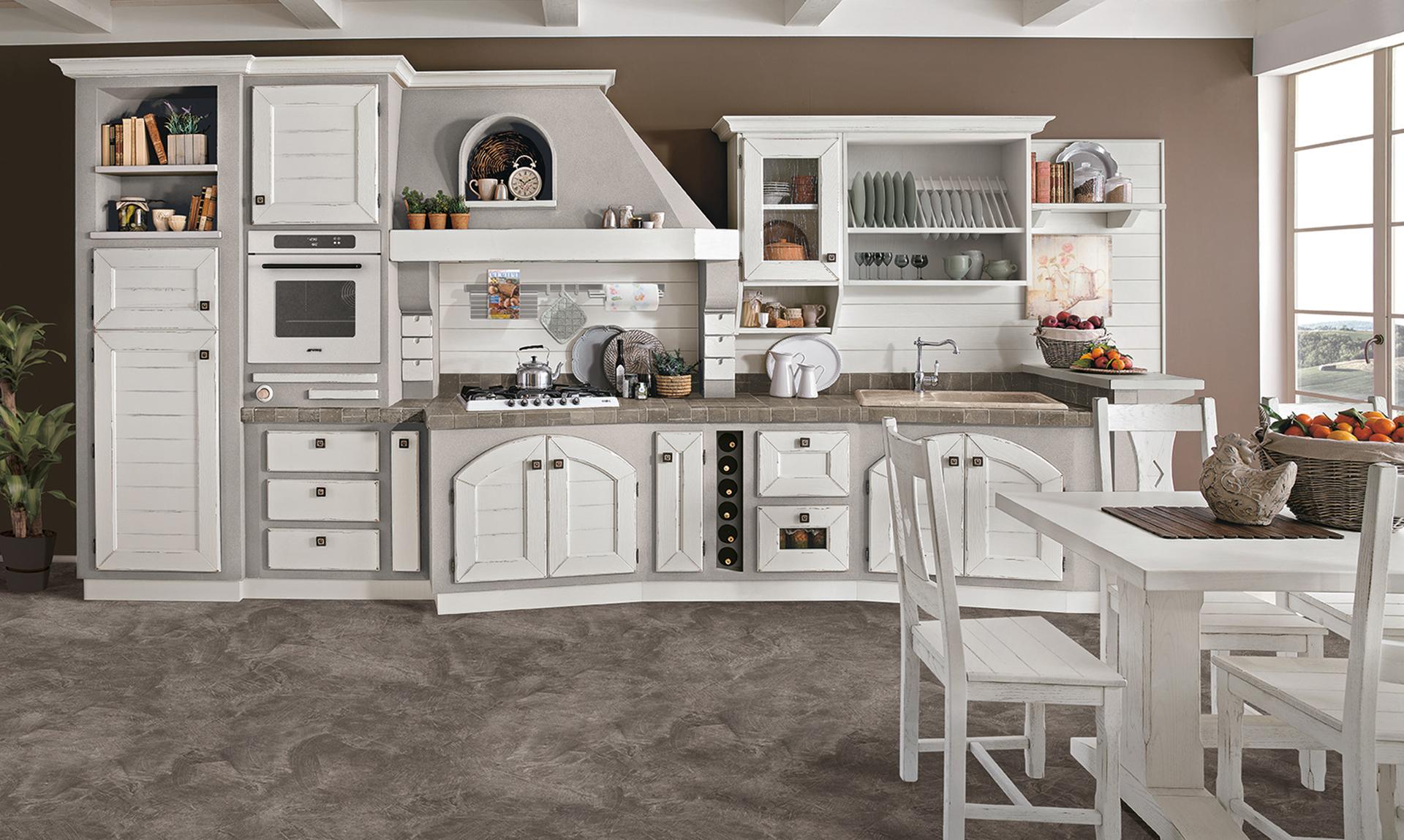Luisa - Cucine finta muratura lube ...